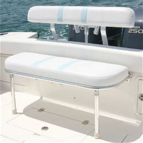 Boat Side Bench Seat by Marine Seats Folding Rear Bench Seat Birdsall Marine Design