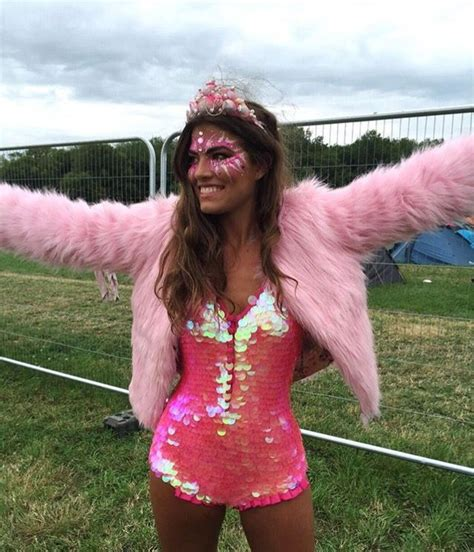 Pink sequins and fur festival outfit   festival   Pinterest   Pink sequin Sequins and Fur