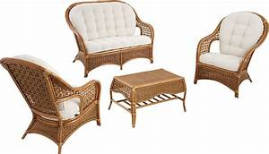 Salon De Jardin Bambou : salon rotin ~ Teatrodelosmanantiales.com Idées de Décoration