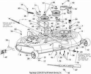 Mtd 13ax795s004  2016  Parts Diagram For Deck