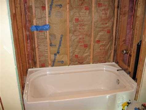 sterling accord bathtub installation  pictures