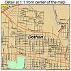 Dothan Alabama Street Map 0121184