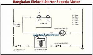 Penyebab Motor Starter Sepeda Motor Bunyi Tek Tek