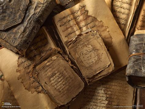 national geographic books ancient paper islamic