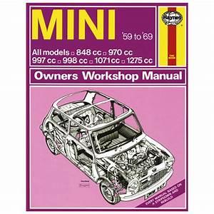 Haynes Workshop Manual  Classic Mini 1959-69 - Books  Manuals  U0026 Dvds - Mini