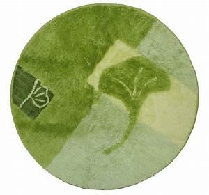 Badteppich Set Grün : badematte hoch tief effekt badteppich gr n 80 cm rund bad teppich neu ebay ~ Markanthonyermac.com Haus und Dekorationen