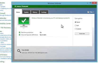 windows    disable anti virus software windows