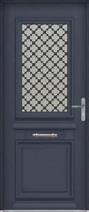 porte d39entree aluminium zilten modele cormelles portes With nice idee amenagement exterieur entree maison 7 plante exterieur en pot en 35 idees deco