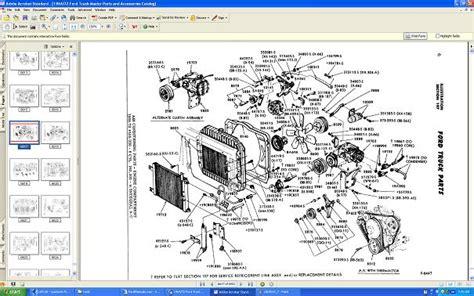 Ford Truck Master Parts Catalog Ebay