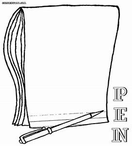 Pen coloring pages | Coloring pages to download and print
