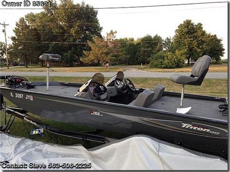 Pontoon Boats For Sale Davenport Iowa by 2005 Triton 186 Dc Pontooncats