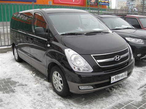 Hyundai H1 Photo by Used 2008 Hyundai H1 Photos 2500cc Diesel Fr Or Rr
