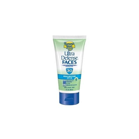 Banana Boat Face Sunscreen Review by Banana Boat Ultra Defense Sunscreen Faces Spf 30 Lotion