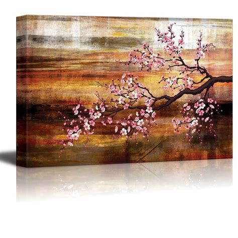 Alibaba.com offers 2294 cherry blossom wall decor products. Abstract Canvas Art - Cherry Blossom - Giclee Print Modern Wall Decor - 16x24   eBay