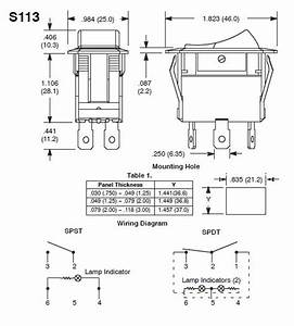 2 Way Toggle Switch 12v Wiring Diagram