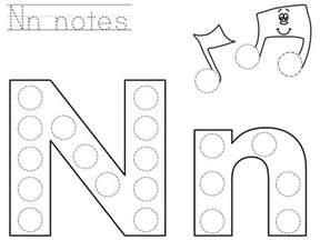 alphabet printables do a dot letter n printable funnycrafts