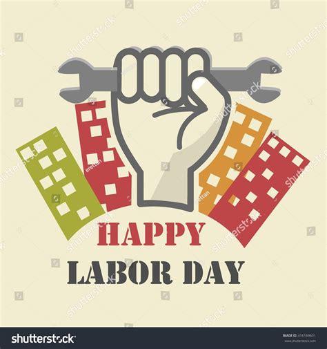 labor day logo template stock vector  shutterstock