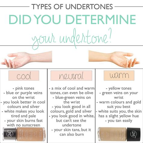 how to what foundation color you are how to determine your skin s undertone mateja s