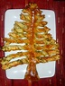Christmas Tree shaped Puff Pastry with homemade Pesto ...