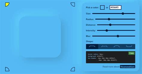 neumorphic design freebies ui kits code