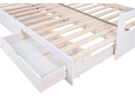canapé lit gigogne conforama lit banquette gigogne 2x90x190 cm 2 tiroirs lit enfant