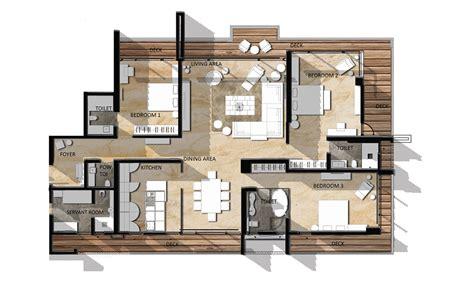 Luxury Apartment Floor Plans 3 Bedroom Luxury Apartments ...