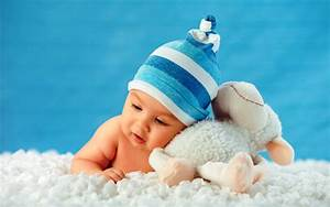 Cutest baby with teddy bear wallpaper - New hd ...