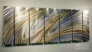 Oil Painting Art Metal Paintings Wall Home Decor Metal