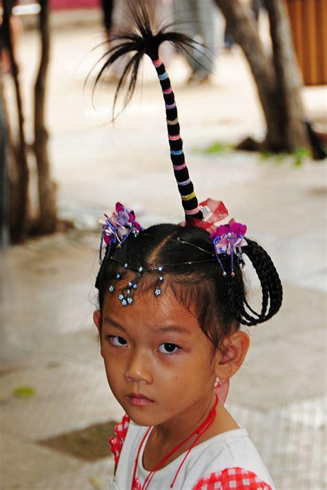 style hair with coconut coconut tree hair style portrait photos lai 2319