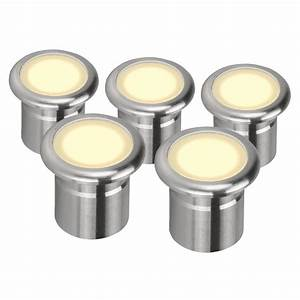 Led In Decke : vivid 5pk five pack 12v 3w led deck lights stainless steel finish warm white led domus ~ Markanthonyermac.com Haus und Dekorationen