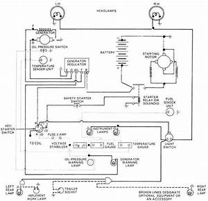 Tractor Wiring Diagram Ford 5000