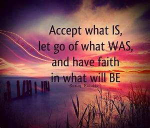 Quotes About Acceptance And Letting Go Quotesgram