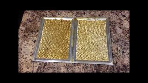 How to Clean Stove Hood filter   YouTube