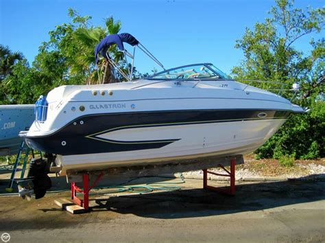 Glastron Boats Reviews by Glastron Gs 279 Sport Cruiser Performance Test Boats