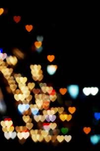 Blurry Heart Lights
