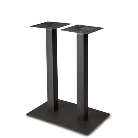 square plate sets plaza 1828 black table base plaza series table bases
