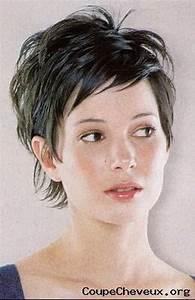 Coupes Cheveux Courts Femme : modele coupe de cheveux femme court ~ Melissatoandfro.com Idées de Décoration