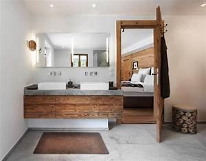 Waschtisch Holz Rustikal : gasteiger bad kitzb hel chalet stil badplanung rustikal ~ Frokenaadalensverden.com Haus und Dekorationen