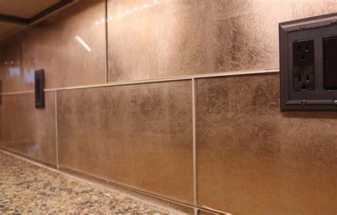 glass subway tiles for kitchen backsplash kitchen dining metal frenzy in kitchen copper
