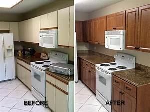 before and after pictures kitchen cabinet refacing 2369
