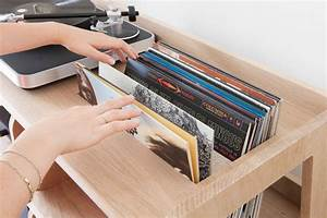 Meuble Pour Vinyle : port e le sur mesure du meuble pour les platines vinyles mariekke ~ Teatrodelosmanantiales.com Idées de Décoration