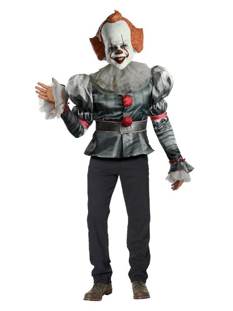 pennywise  chapter  deluxe costume  adults