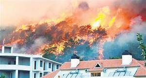 Forest fire guts 5 hotels in Antalya - Daily Sabah