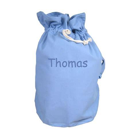 un panier de rangement jouet bleu personnalis 233 par pr 233 nom