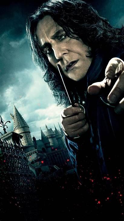 Harry Potter Hallows Deathly Snape Severus Phone