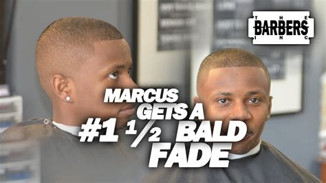 bald fade ethnic black african american hair mens