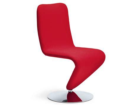 chaise rembourrée chaise pivotante rembourrée f12 by midj design r d
