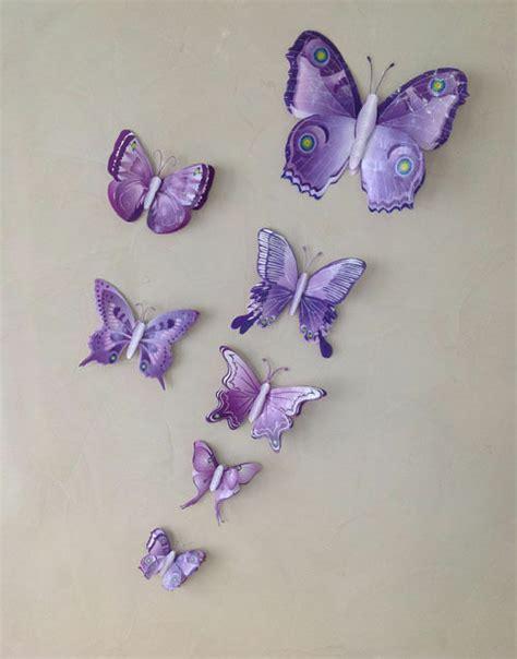 3d schmetterlinge wanddeko 7 set 3d schmetterlinge wandtattoo wanddeko wandtatoo wandaufkleber in 10 design ebay