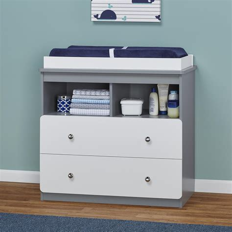 changing table nursery changing table storage drawers shelves