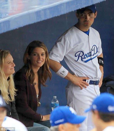 Strike Two Twilight Star Ashley Greene At Second Softball